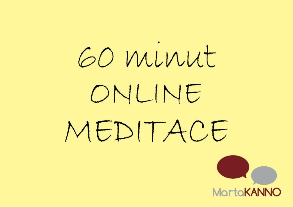 online meditace s Martou